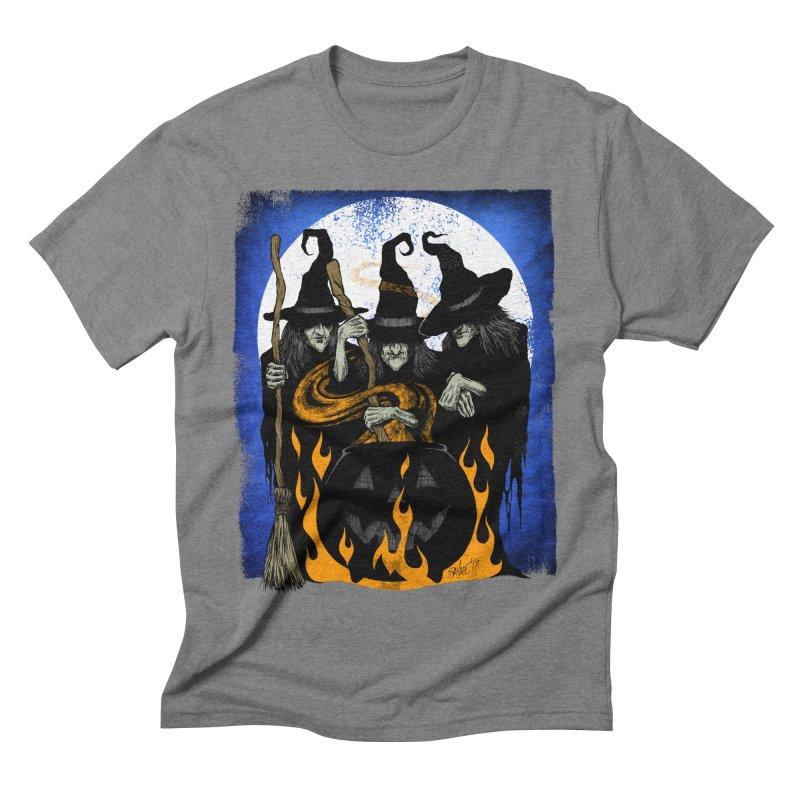 Cauldron Crones Men's Triblend T-Shirt by The Dark Art of Chad Savage