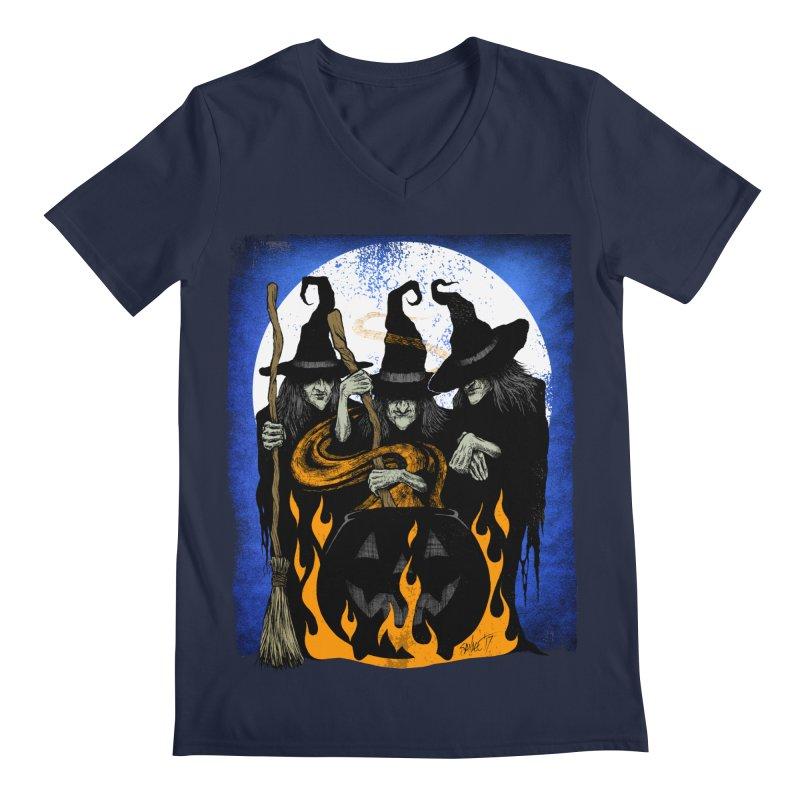 Cauldron Crones Men's V-Neck by The Dark Art of Chad Savage