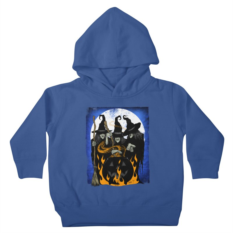 Cauldron Crones Kids Toddler Pullover Hoody by The Dark Art of Chad Savage