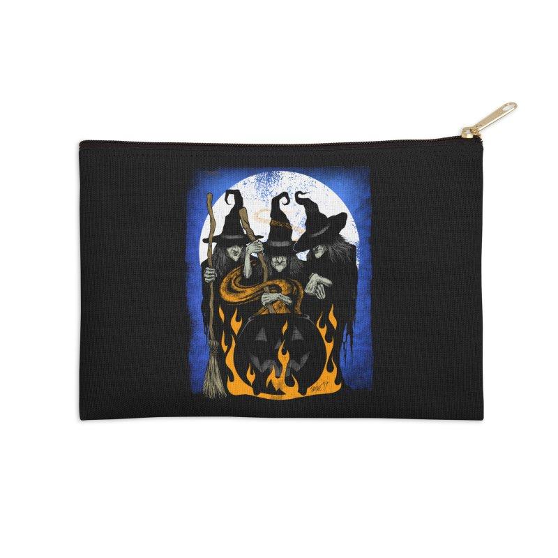 Cauldron Crones Accessories Zip Pouch by The Dark Art of Chad Savage