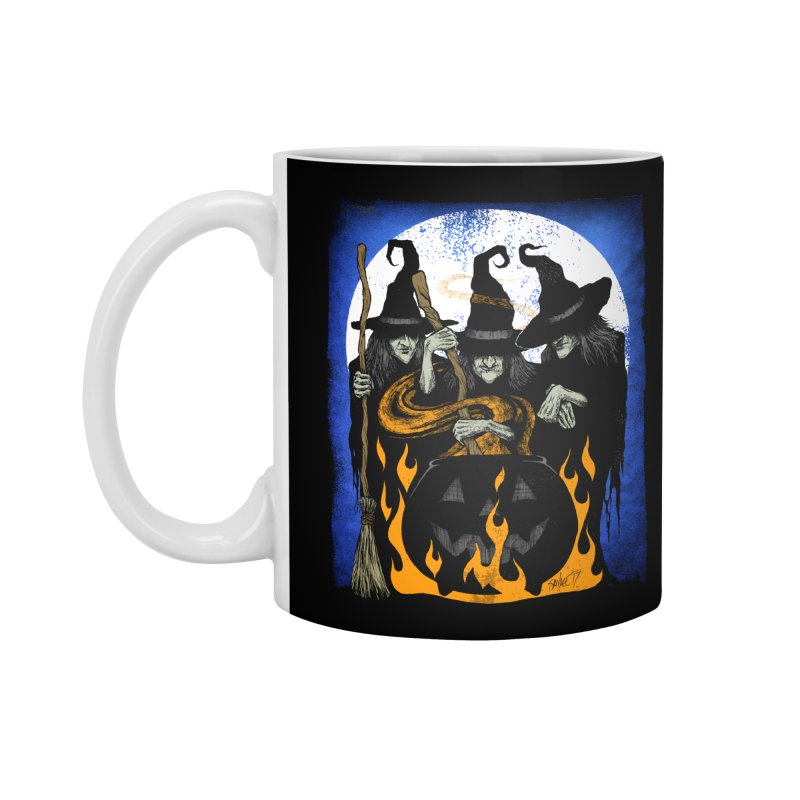 Cauldron Crones Accessories Mug by The Dark Art of Chad Savage
