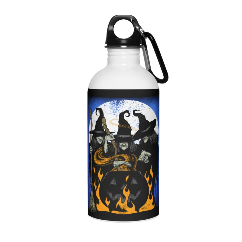 Cauldron Crones Accessories Water Bottle by The Dark Art of Chad Savage