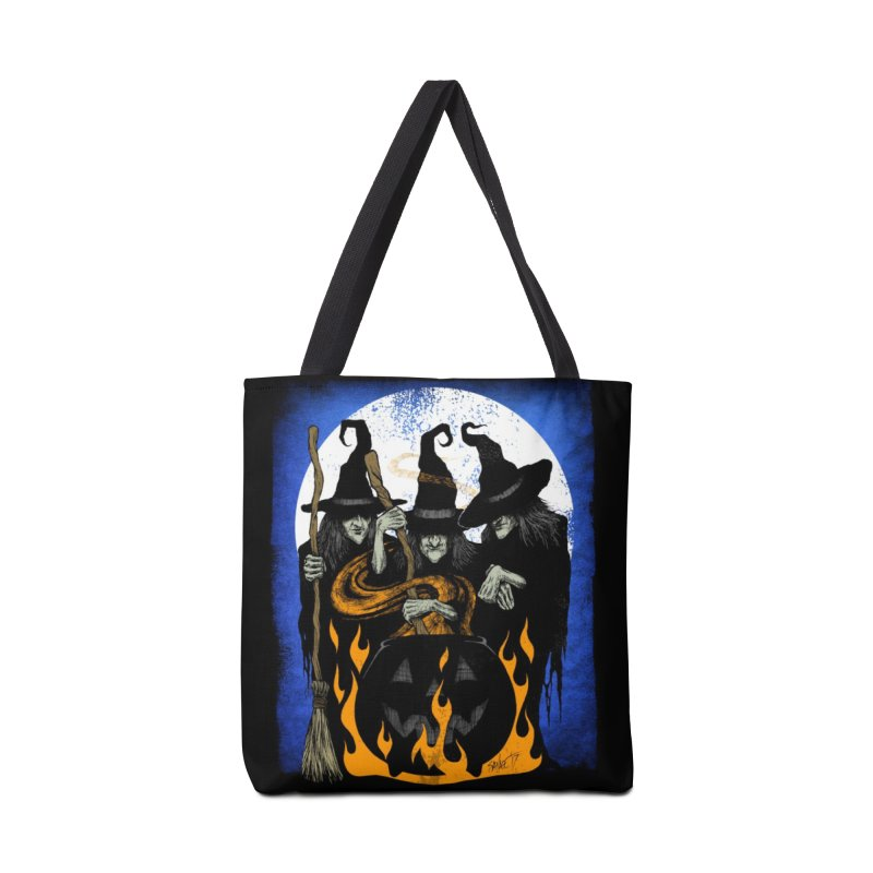 Cauldron Crones Accessories Tote Bag Bag by The Dark Art of Chad Savage