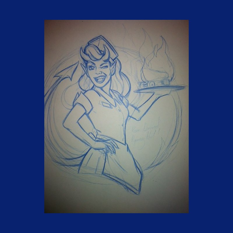 Hellions Logo Artwork by Savannah Derby Devils Shop