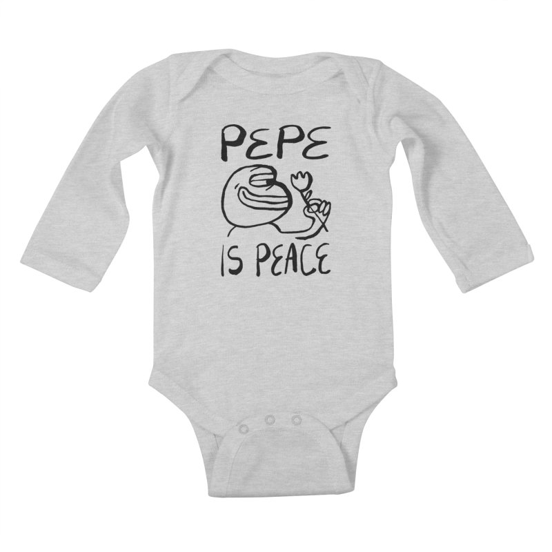 Michael Worful  Kids Baby Longsleeve Bodysuit by Save Pepe