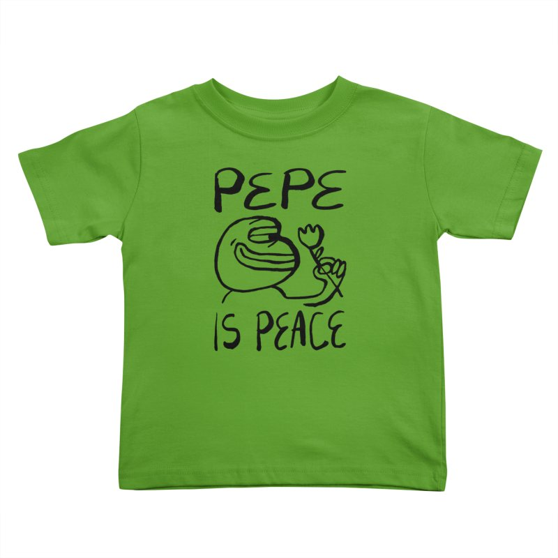 Michael Worful  Kids Toddler T-Shirt by Save Pepe