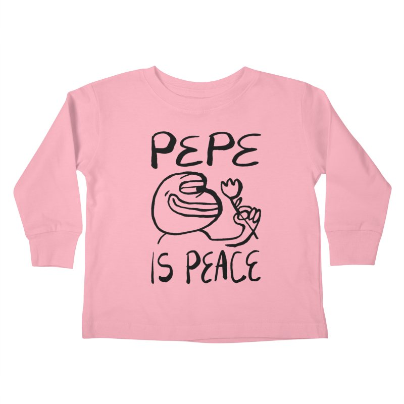 Michael Worful  Kids Toddler Longsleeve T-Shirt by Save Pepe