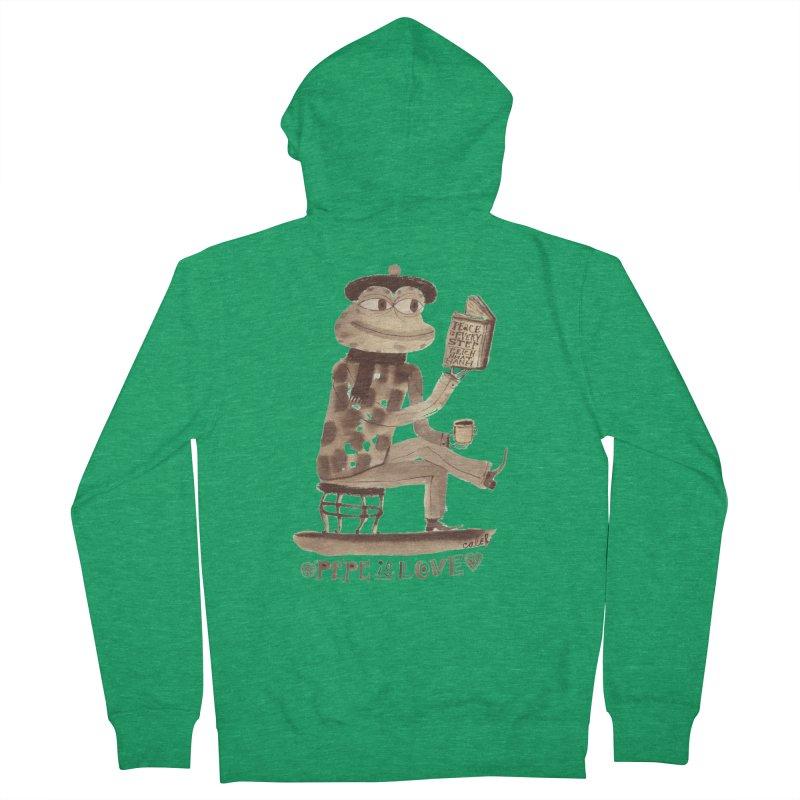 Calef Brown  Men's Zip-Up Hoody by Save Pepe