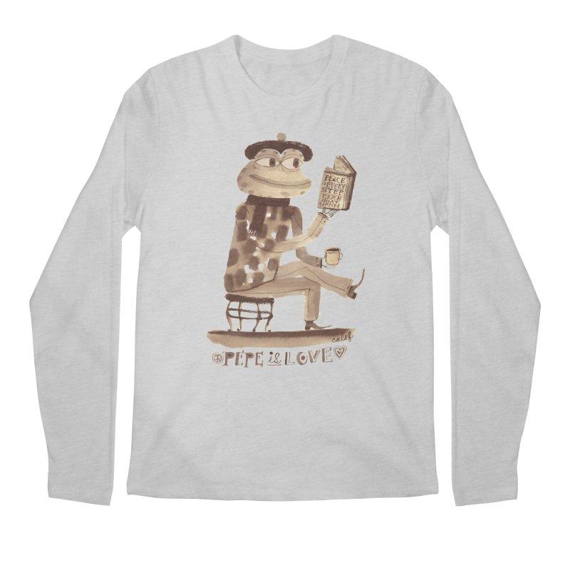 Calef Brown  Men's Longsleeve T-Shirt by Save Pepe