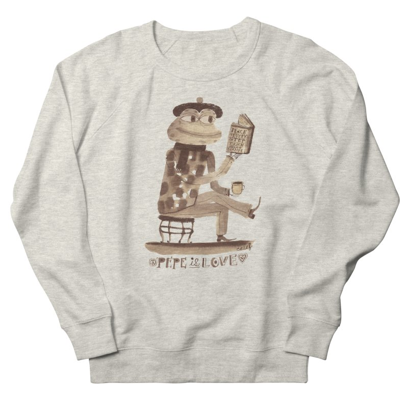 Calef Brown  Women's Sweatshirt by Save Pepe