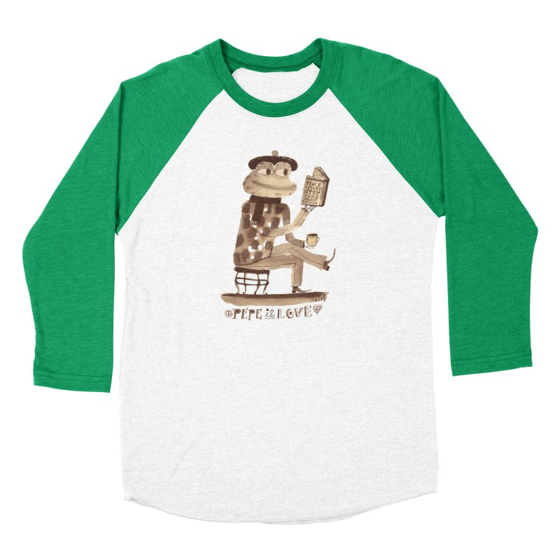 Calef Brown  Men's Baseball Triblend Longsleeve T-Shirt by Save Pepe