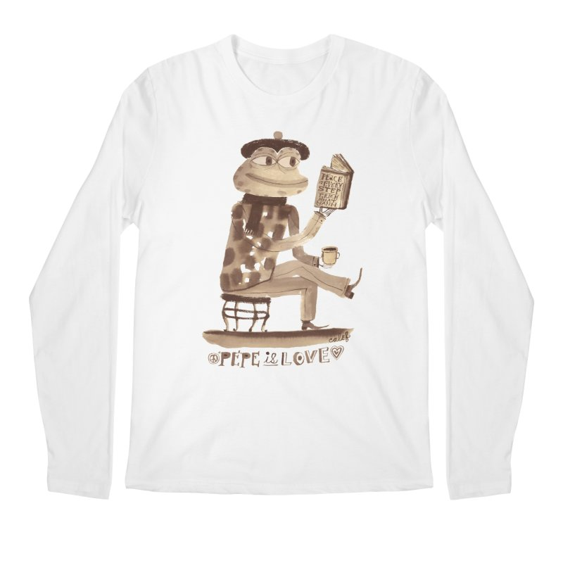 Calef Brown  Men's Regular Longsleeve T-Shirt by Save Pepe