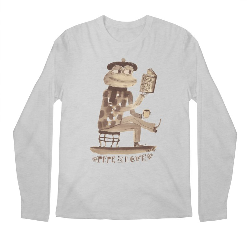 Calef Brown  Men's Longsleeve T-Shirt by Save Pepe