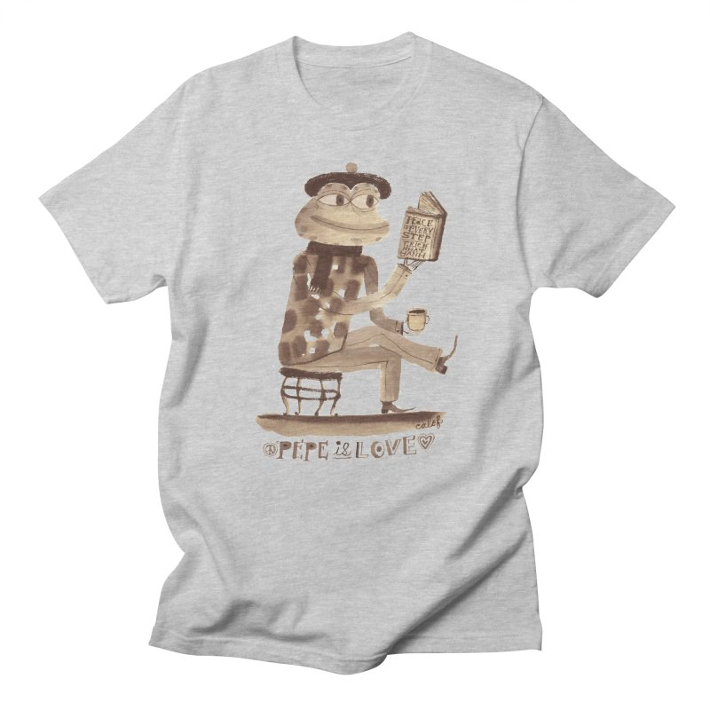 Calef Brown  Men's Regular T-Shirt by savepepe's Artist Shop