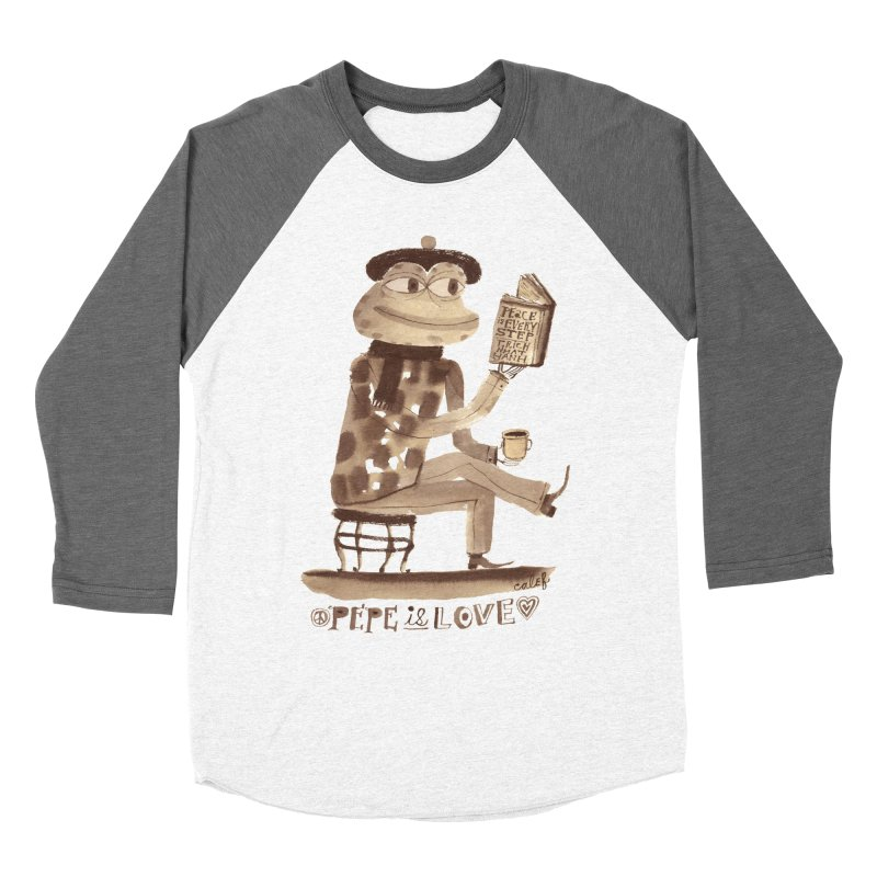 Calef Brown  Women's Baseball Triblend Longsleeve T-Shirt by Save Pepe