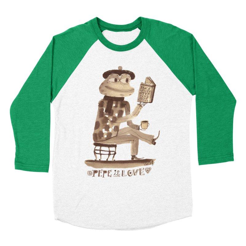 Calef Brown  Men's Baseball Triblend Longsleeve T-Shirt by savepepe's Artist Shop