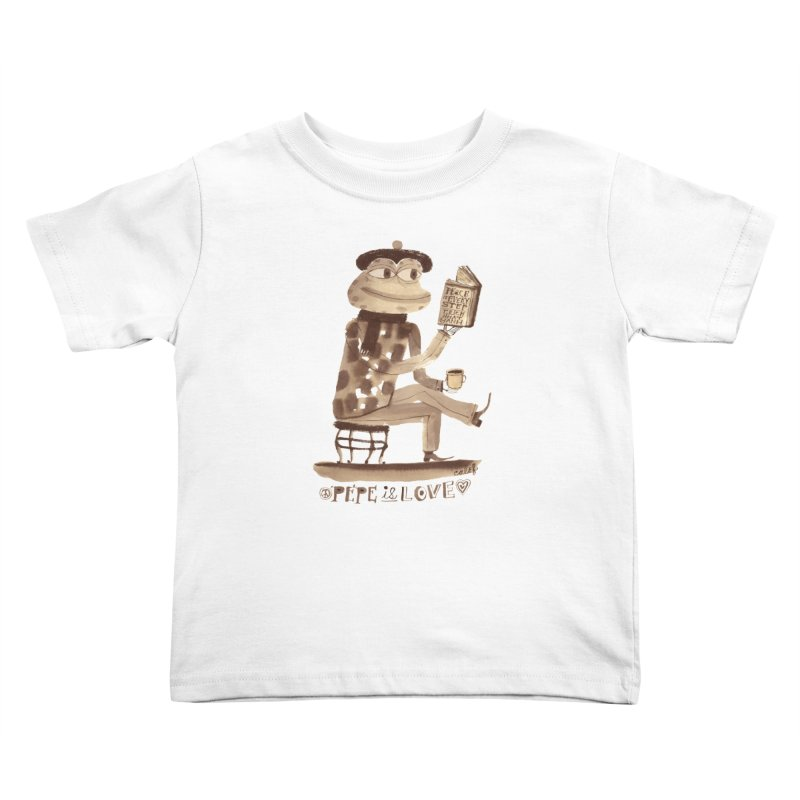 Calef Brown  Kids Toddler T-Shirt by savepepe's Artist Shop