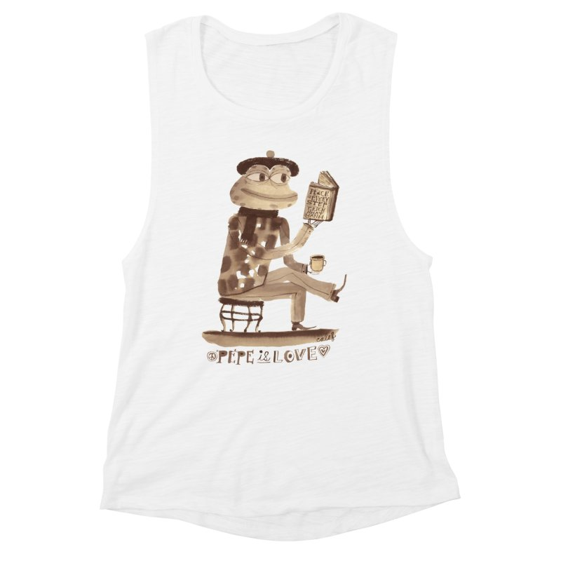 Calef Brown  Women's Tank by Save Pepe