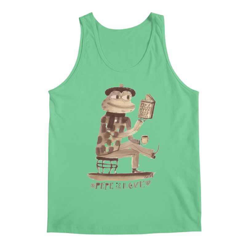 Calef Brown  Men's Tank by Save Pepe