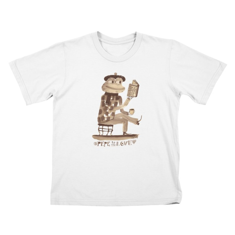 Calef Brown  Kids T-Shirt by Save Pepe