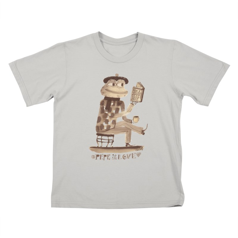 Calef Brown  Kids T-shirt by savepepe's Artist Shop