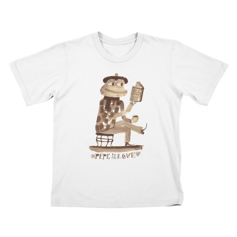 Calef Brown  Kids T-Shirt by savepepe's Artist Shop
