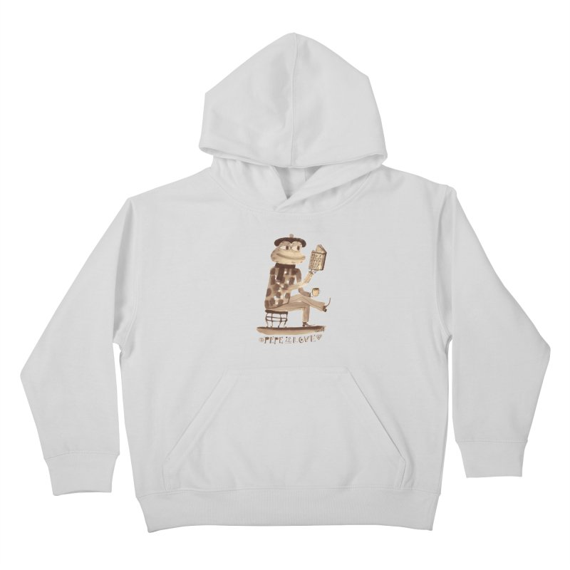 Calef Brown  Kids Pullover Hoody by savepepe's Artist Shop