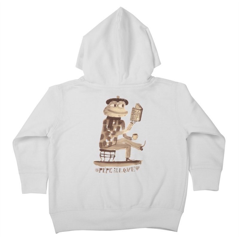 Calef Brown  Kids Toddler Zip-Up Hoody by Save Pepe