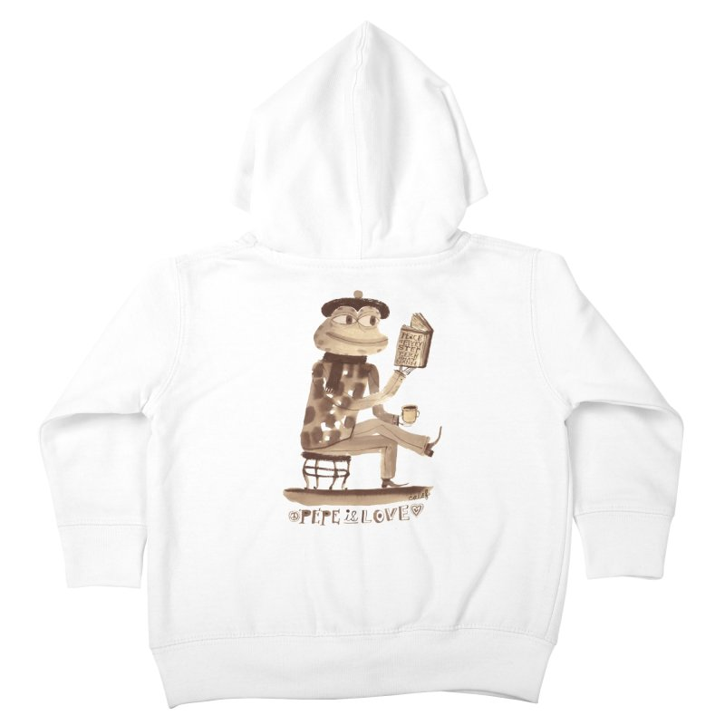 Calef Brown  Kids Toddler Zip-Up Hoody by savepepe's Artist Shop