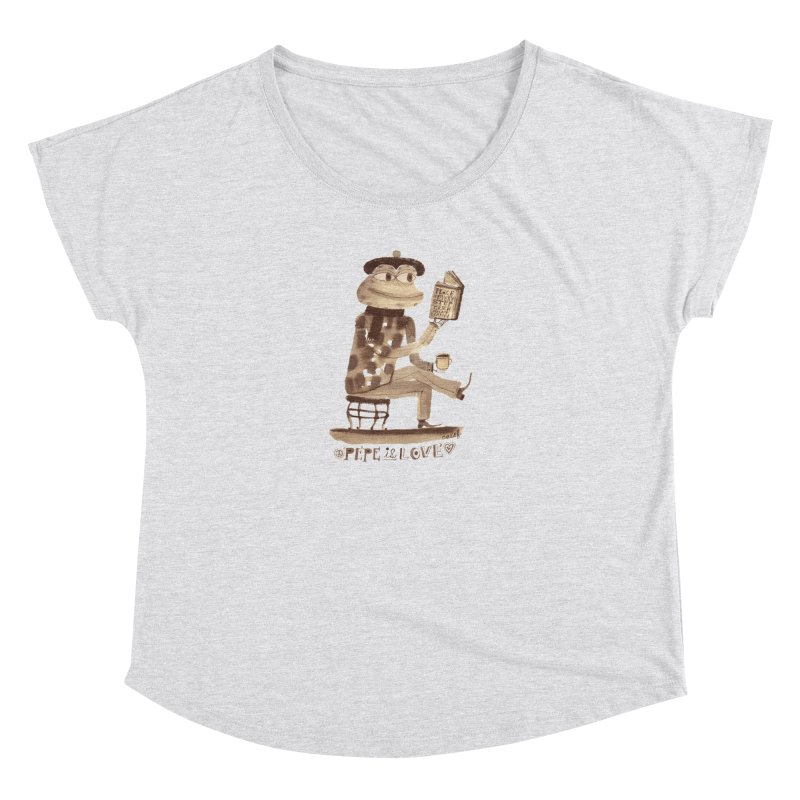 Calef Brown  Women's Scoop Neck by Save Pepe