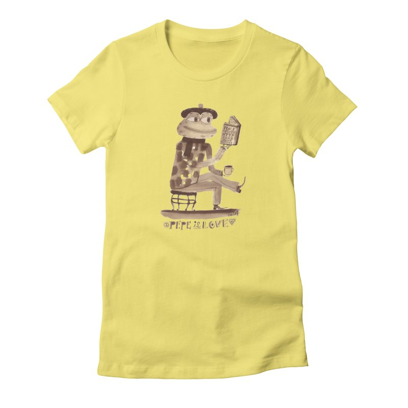 Calef Brown  Women's T-Shirt by savepepe's Artist Shop