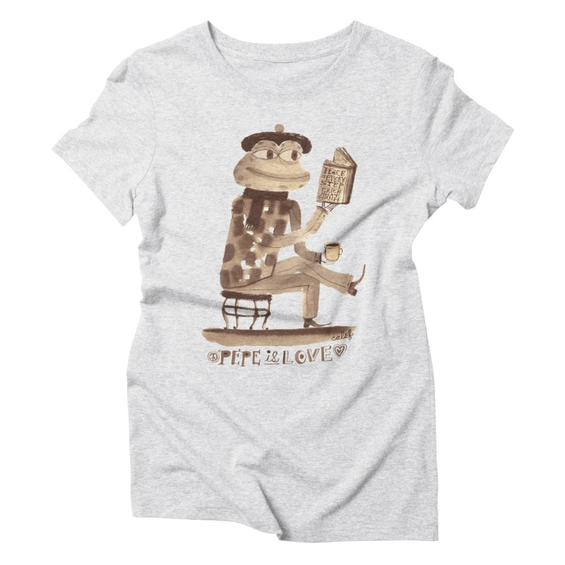Calef Brown  Women's T-Shirt by Save Pepe