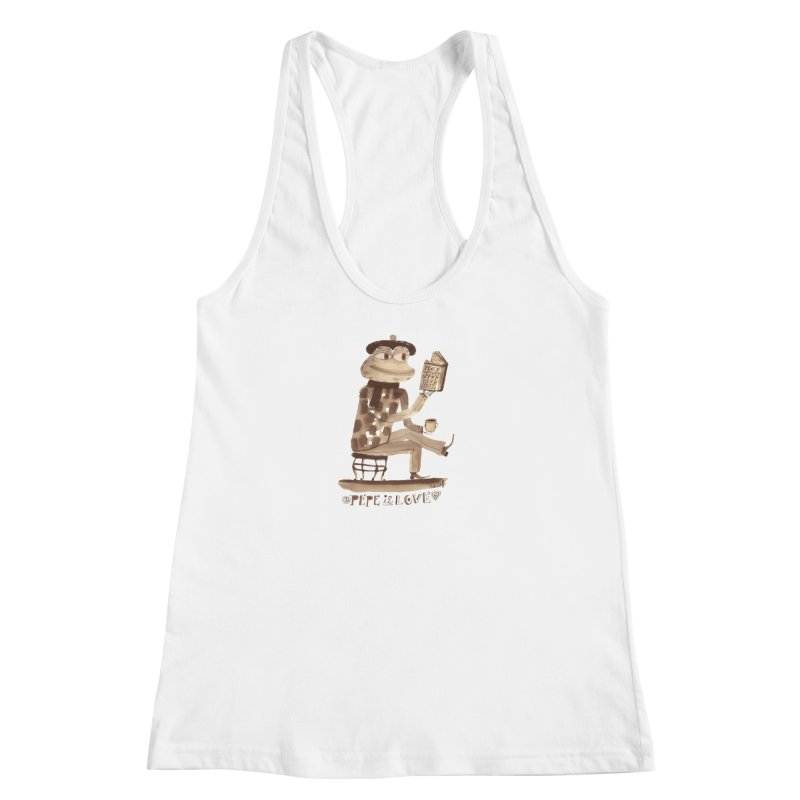 Calef Brown  Women's Racerback Tank by savepepe's Artist Shop
