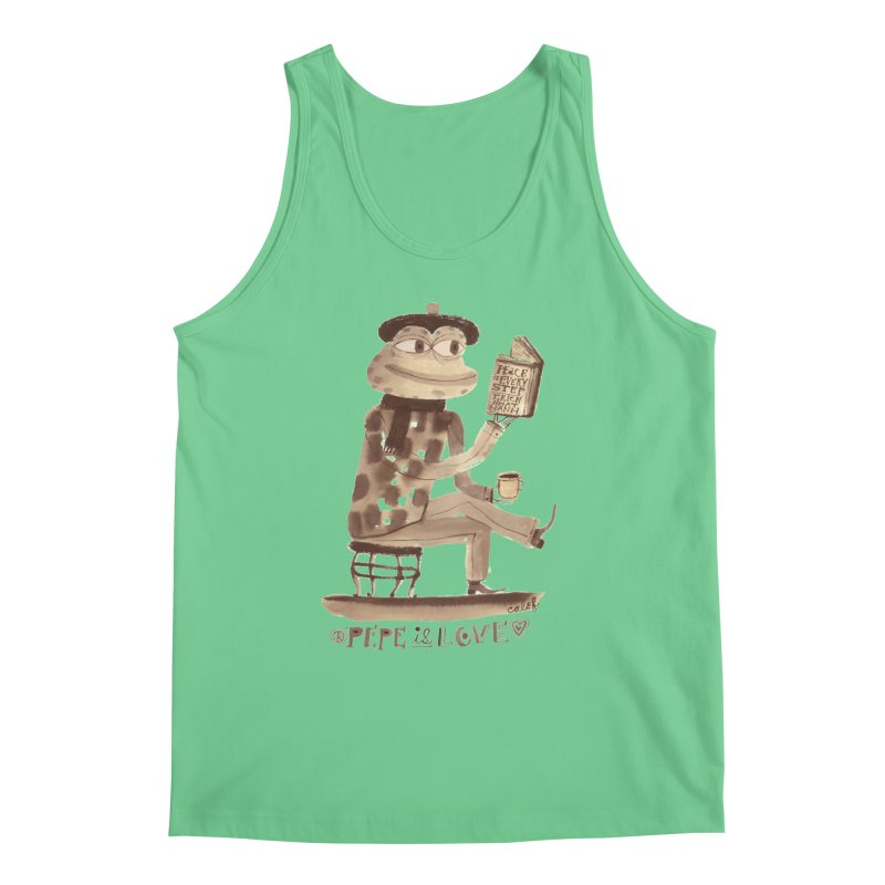 Calef Brown  Men's Regular Tank by savepepe's Artist Shop