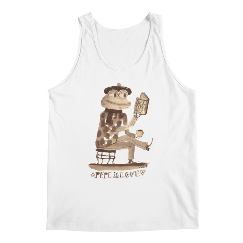 Calef Brown  Men's Tank by savepepe's Artist Shop