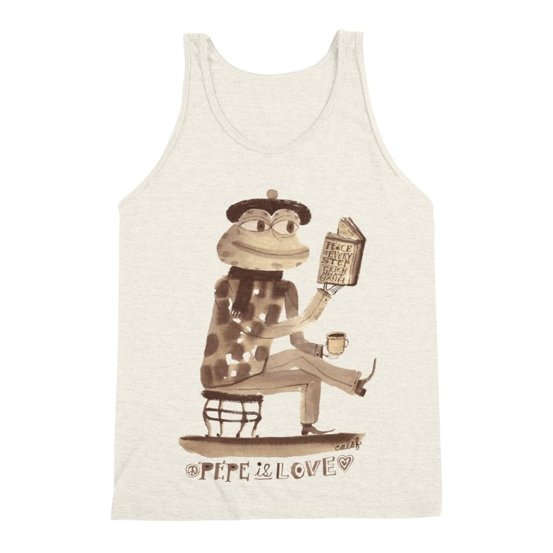 Calef Brown  Men's Triblend Tank by Save Pepe