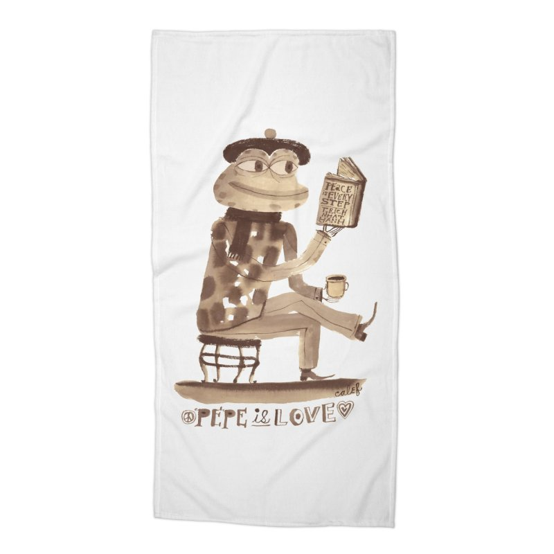 Calef Brown  Accessories Beach Towel by savepepe's Artist Shop