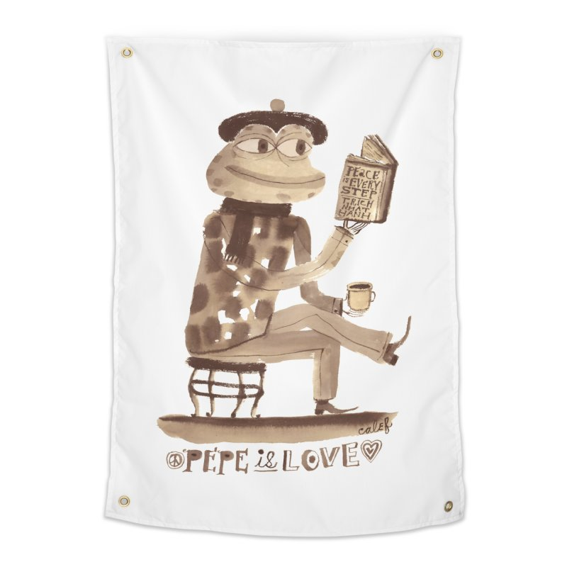 Calef Brown  Home Tapestry by Save Pepe