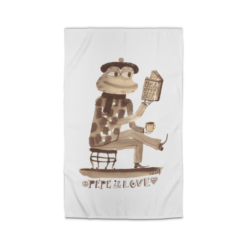 Calef Brown  Home Rug by Save Pepe