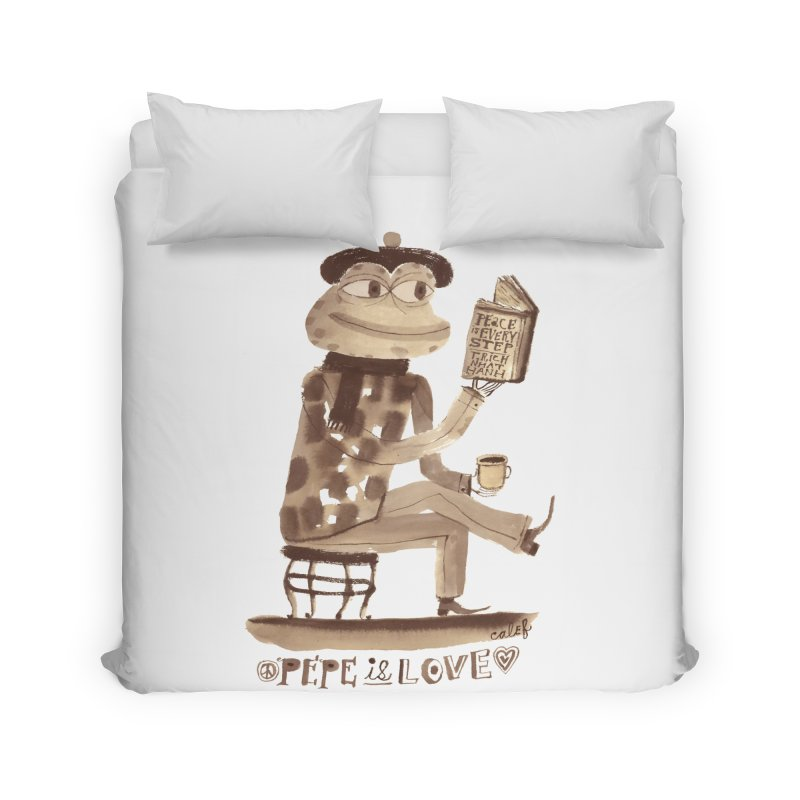 Calef Brown  Home Duvet by savepepe's Artist Shop