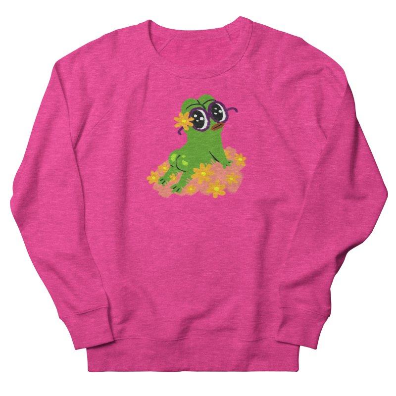 Aiden Jimeno  Women's French Terry Sweatshirt by Save Pepe