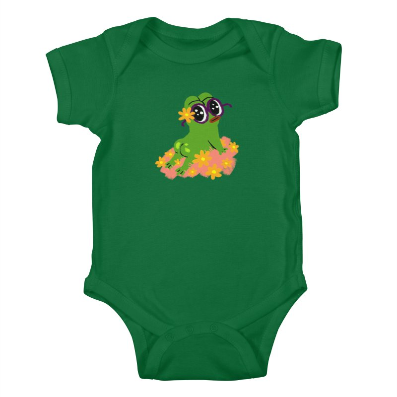Aiden Jimeno  Kids Baby Bodysuit by Save Pepe