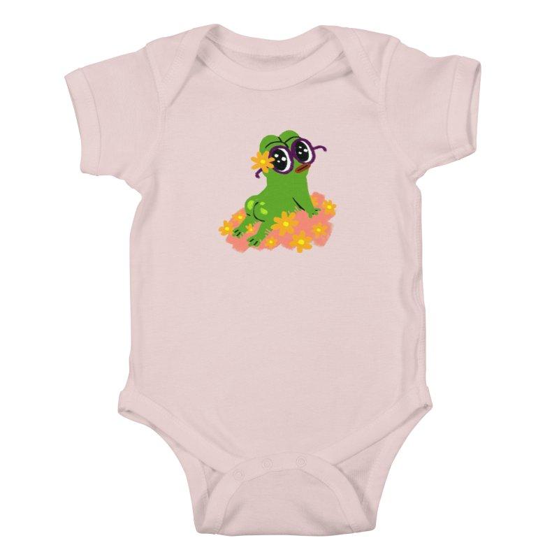 Aiden Jimeno  Kids Baby Bodysuit by savepepe's Artist Shop