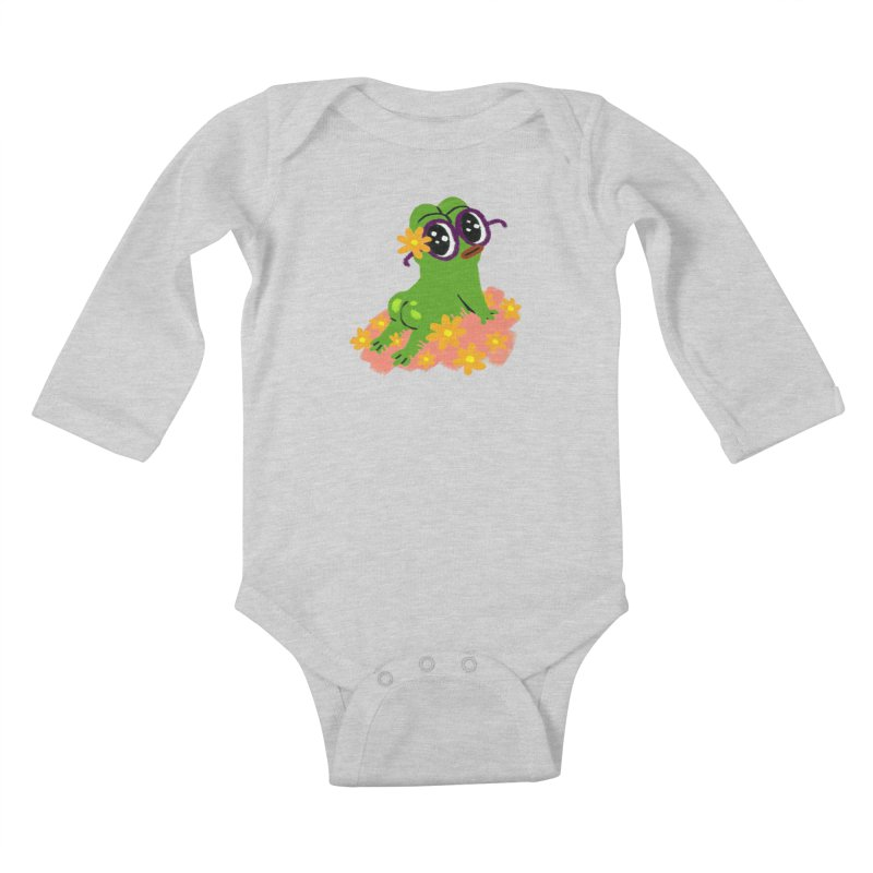 Aiden Jimeno  Kids Baby Longsleeve Bodysuit by savepepe's Artist Shop