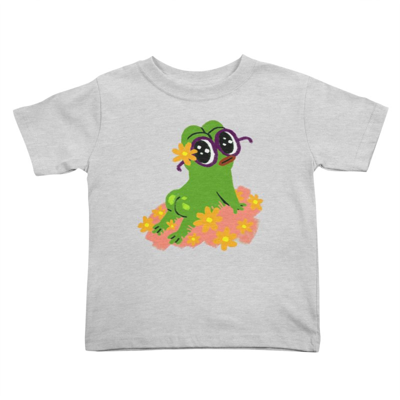 Aiden Jimeno  Kids Toddler T-Shirt by Save Pepe