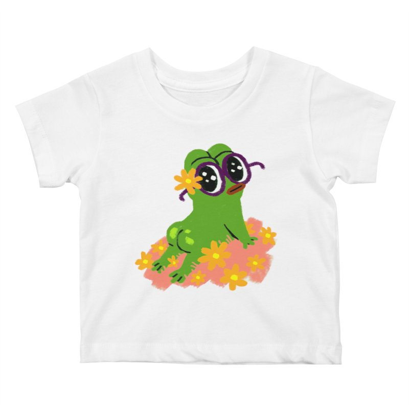 Aiden Jimeno  Kids Baby T-Shirt by Save Pepe