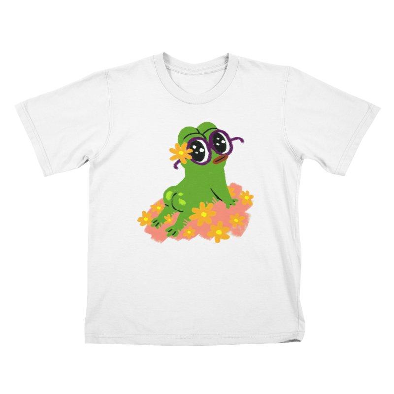 Aiden Jimeno  Kids T-Shirt by Save Pepe