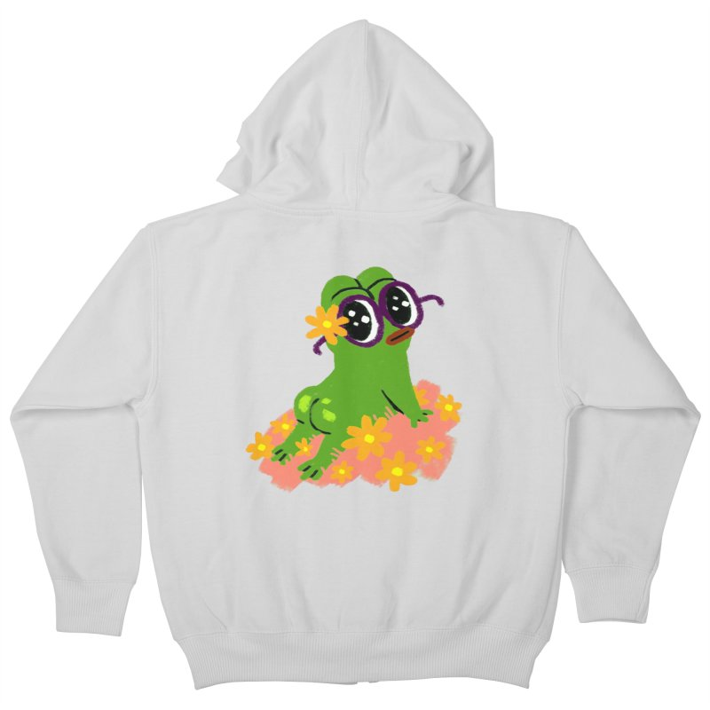 Aiden Jimeno  Kids Zip-Up Hoody by savepepe's Artist Shop