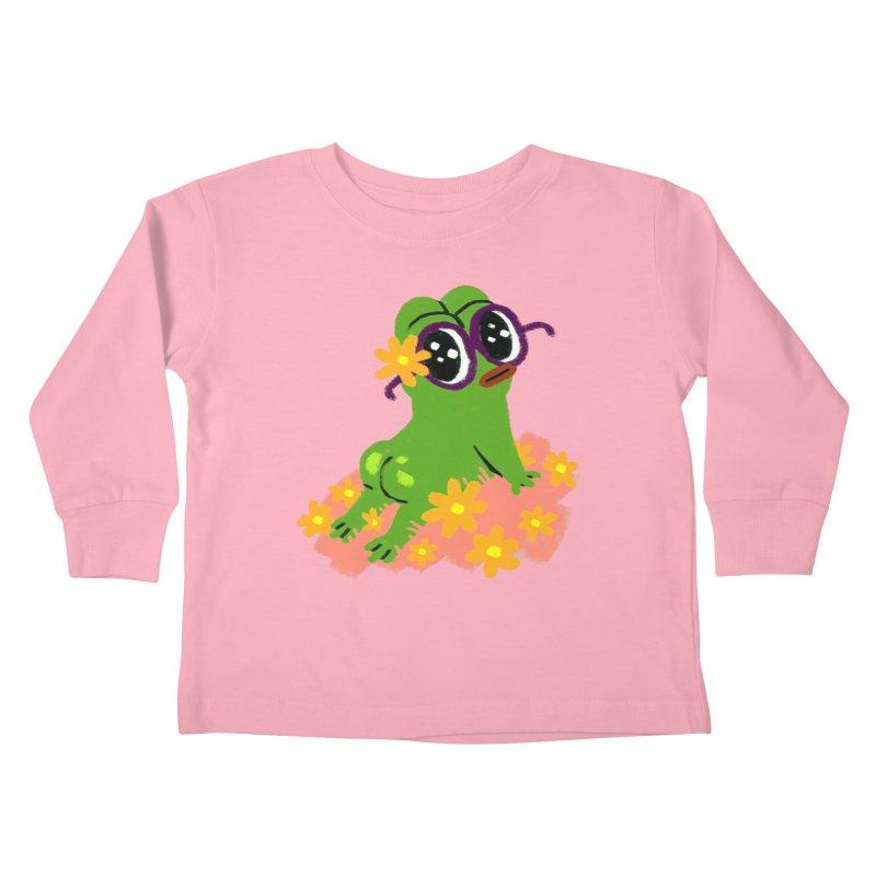 Aiden Jimeno  Kids Toddler Longsleeve T-Shirt by savepepe's Artist Shop