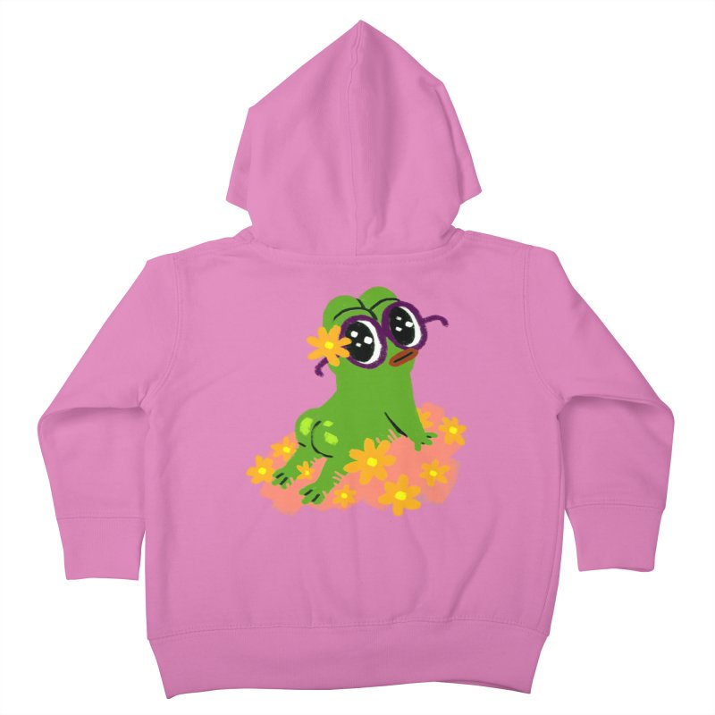 Aiden Jimeno  Kids Toddler Zip-Up Hoody by savepepe's Artist Shop